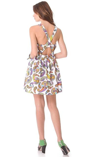 MSGM Paisley Memphis Dress