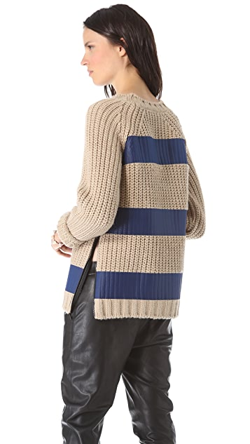 MSGM Striped Sweater