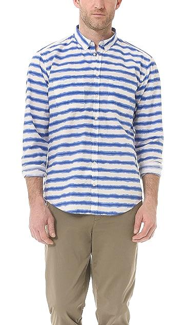 MSGM Striped Sport Shirt