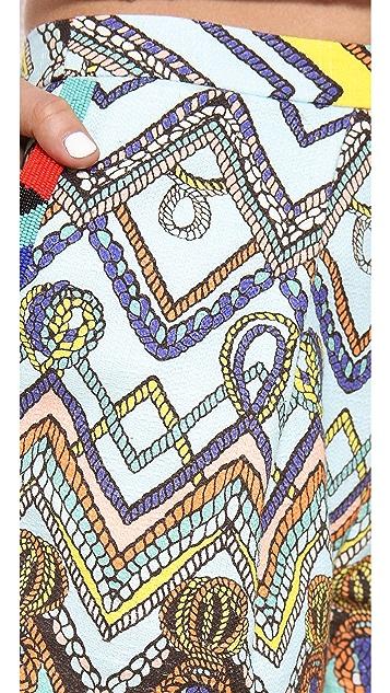 MSGM Multicolor Shorts