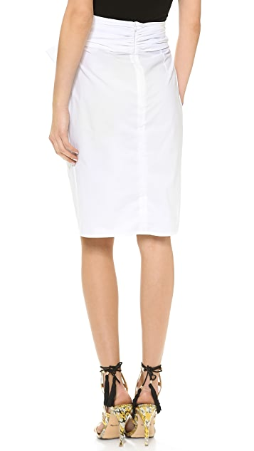 MSGM Bow Front Skirt