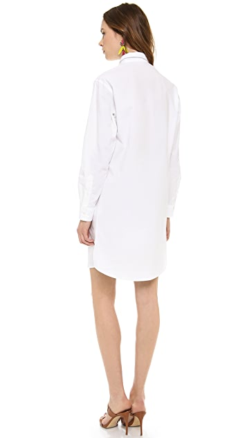 MSGM Button Down Dress