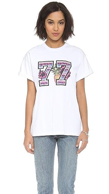 MSGM 77 Tee