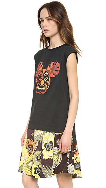 MSGM Monkey Muscle Tee