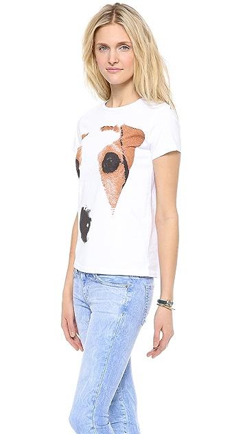 MSGM Dog T-Shirt