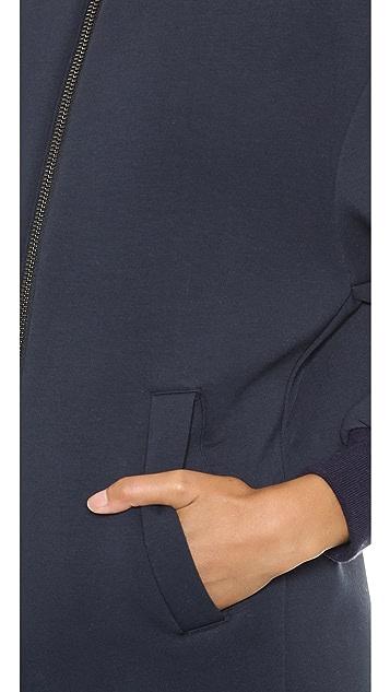 MSGM Neoprene Coat