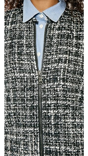 MSGM Tweed Cape