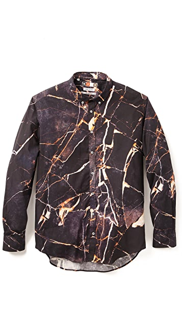 MSGM Marbled Shirt