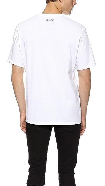 MSGM 'Truth' T-Shirt
