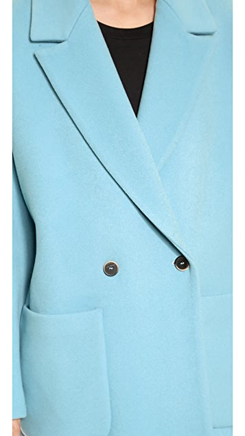 MSGM Wool Overcoat