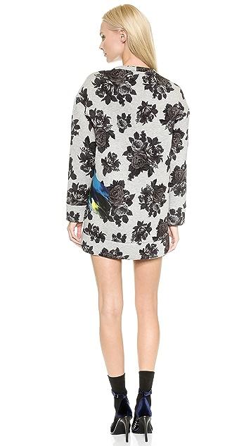 MSGM Neoprene Sweatshirt Dress