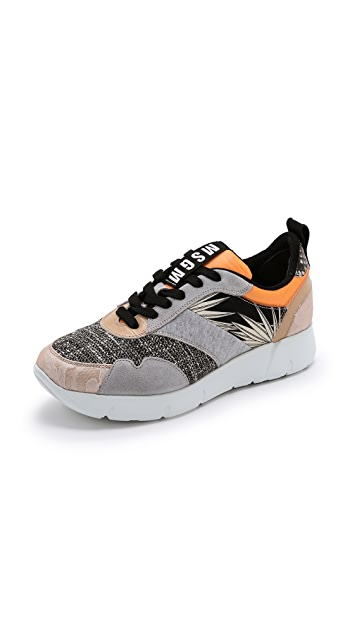 MSGM Inside Out Crazy Sneakers