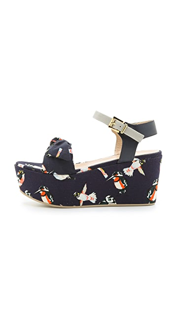 MSGM Torchon Wedges