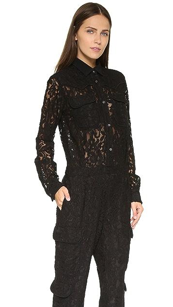 MSGM Lace Jumpsuit