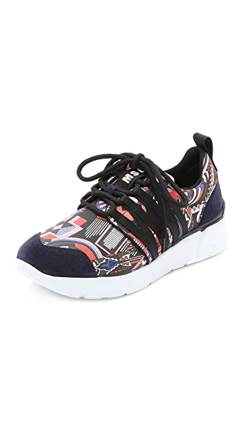 MSGM Eve Webbing Jogger Sneakers