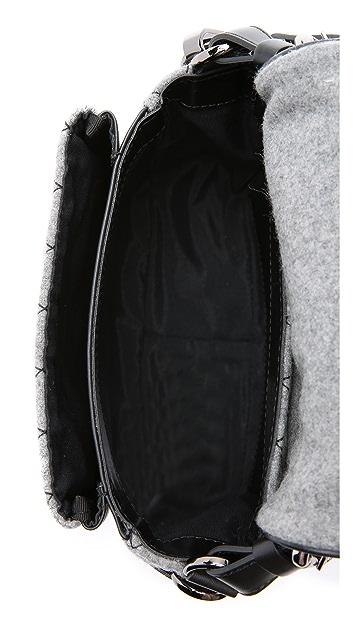 MSGM Quilted Rocket Shoulder Bag