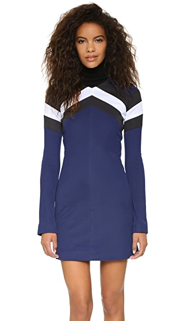 MSGM Mock Neck Dress
