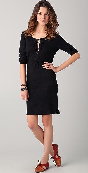 Majestic Linen Jersey Dress