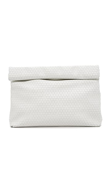 Marie Turnor Accessories Honeycomb Lunch Clutch