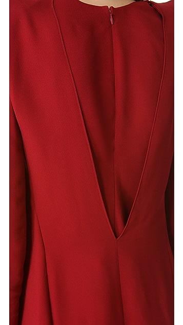 Mugler Shoulder Detail Dress