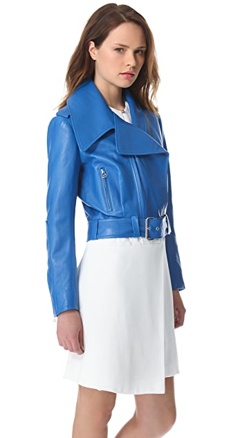 Mugler Leather Jacket