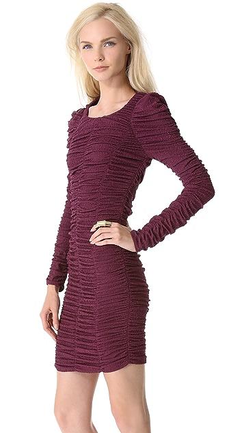 Mugler Long Sleeve Dress