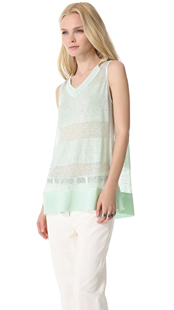 MAISON ULLENS Summer Linen Top