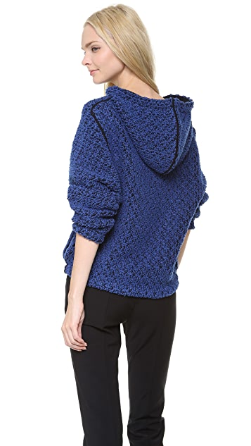 MAISON ULLENS Reversible Hooded Sweater