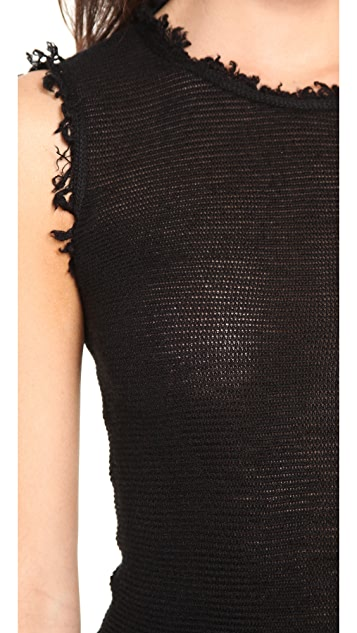 MAISON ULLENS Sleeveless Cashmere Top