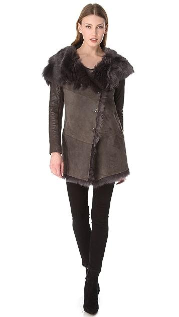Muubaa Isabela Shearling Coat