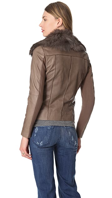 Muubaa Henely Leather Jacket