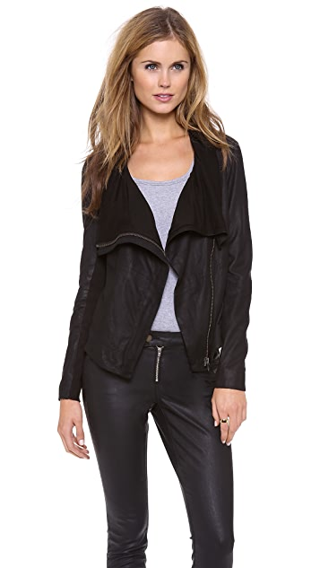 Muubaa Sinoia Leather Jacket