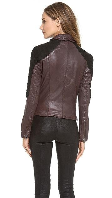 Muubaa Xera Quilted Biker Jacket
