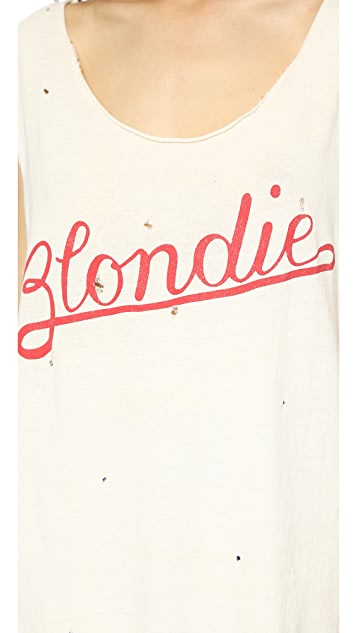 MADEWORN ROCK Blondie Rock Printed Tank