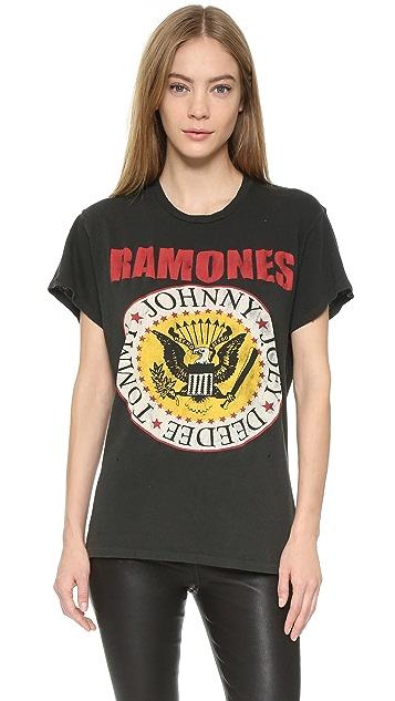MADEWORN ROCK Ramones1979 Printed Tee