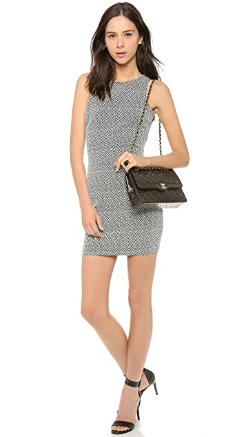 Myne Leila Fitted Dress with Cutout Back