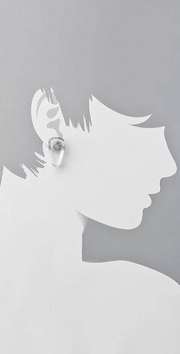 Naked Label Spike Earrings
