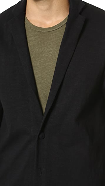 Naked & Famous Heavy Dense Knit Blazer
