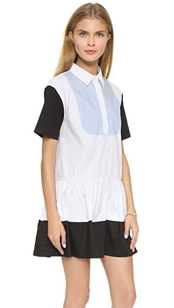 re:named Colorblock Dress