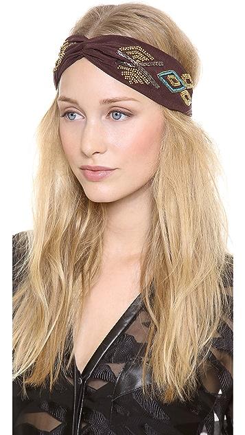 NAMJOSH Tribal Patterned Turban Headband