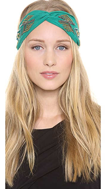 NAMJOSH Tribal Patterned Turban Headband