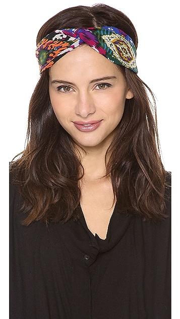 NAMJOSH Ikat Twist Turban Headband