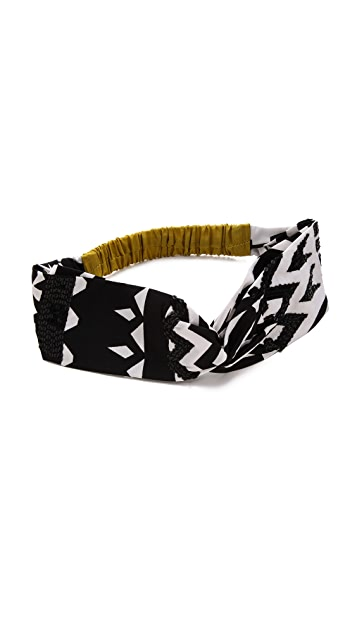 NAMJOSH Colorblock Turban Headband