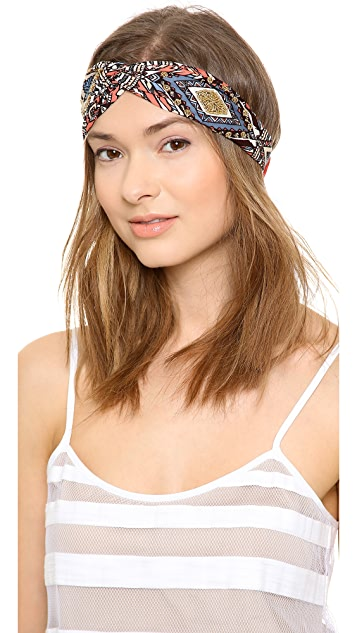 NAMJOSH Patterned Turban Headban