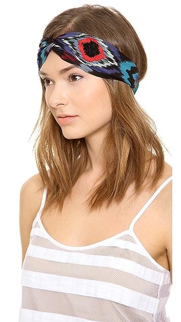 NAMJOSH Fade Patterened Turban Headband