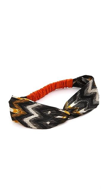 NAMJOSH Zigzag Turban Headband