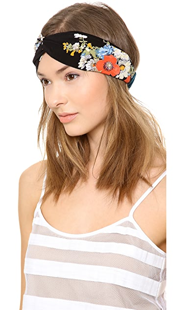 NAMJOSH Floral Turban Headband