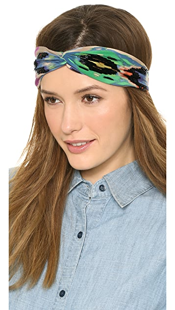 NAMJOSH Colorful Turban Headband
