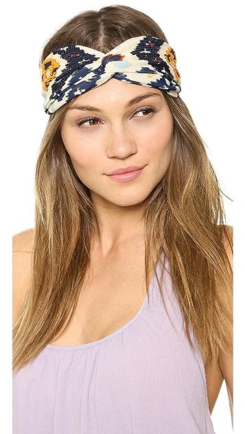 NAMJOSH Sequin Embellished Turban Headband
