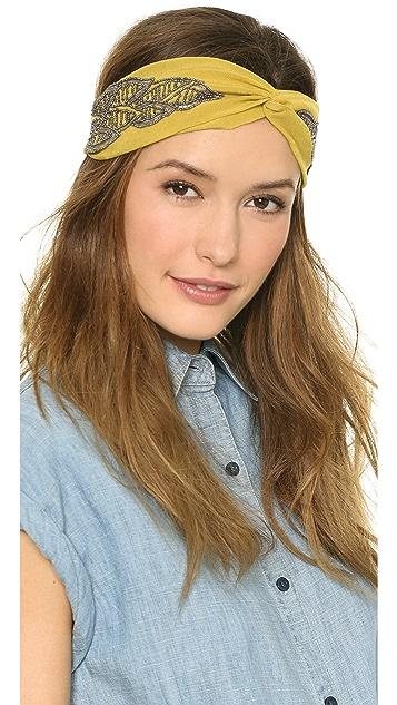 NAMJOSH Leaf Turban Headband